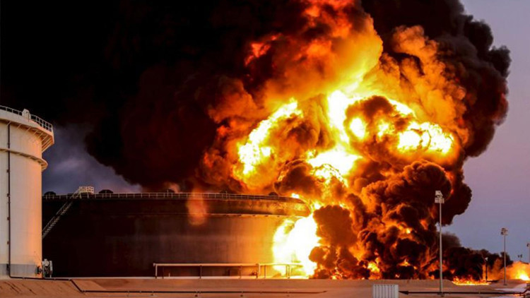 """Libia pierde su petróleo por culpa de un """"Ejército privado"""""""