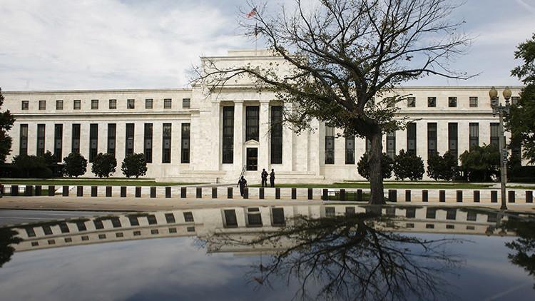 El edificio de la Reserva Federal de Estados Unidos