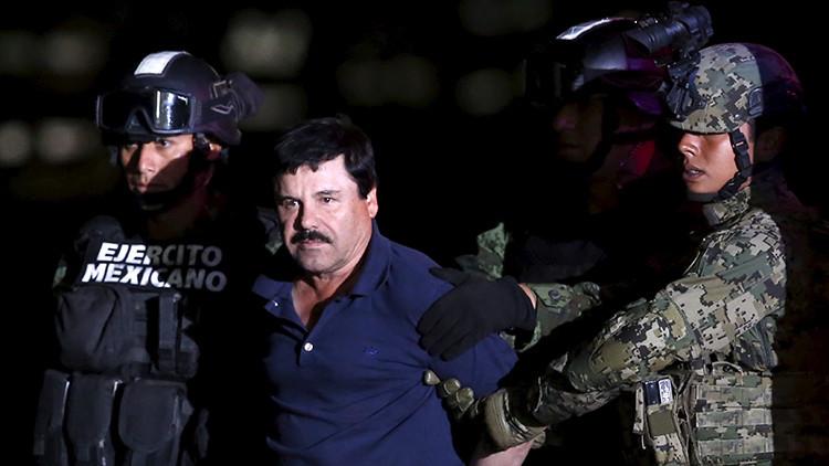 """'El Chapo' denuncia la """"tortura física y mental"""" que sufre en la cárcel"""