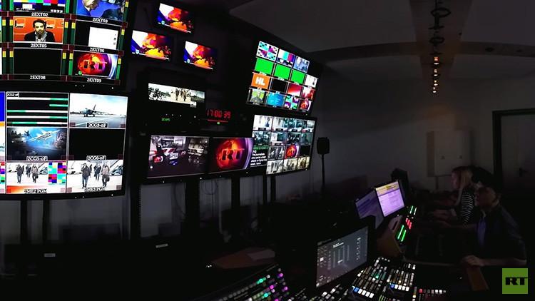 ¿Qué hay tras las cámaras de RT? Eche un vistazo de 360º