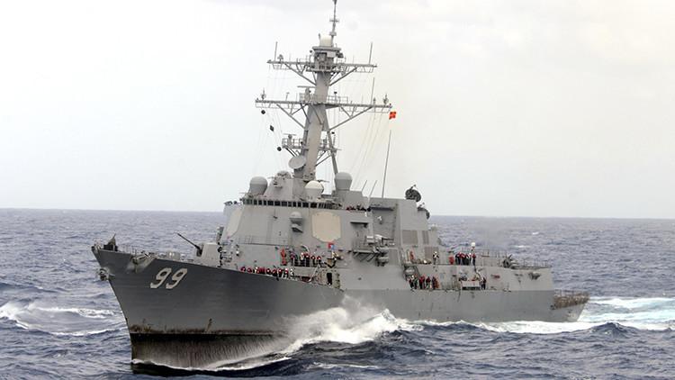 EE.UU. retira un avión y un buque del golfo de Omán obligado por Irán
