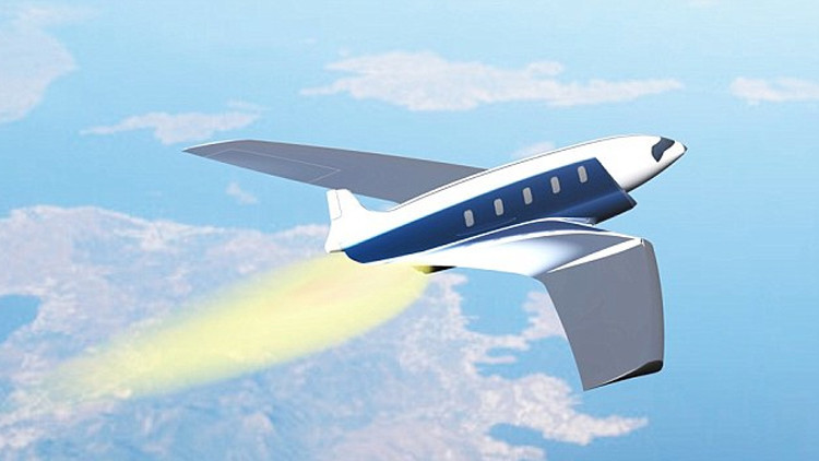 ¿Quiere dar una vuelta al mundo en menos de una hora? Un nuevo avión lo hará posible