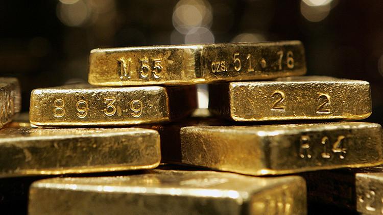 Las reservas de oro registrado del Comex caen un 73%