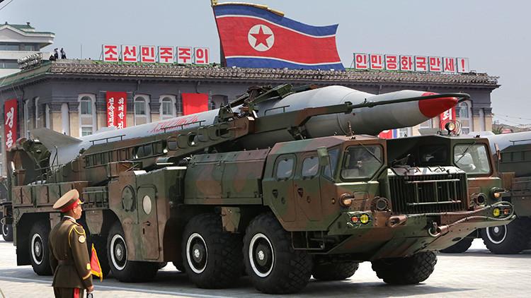 """Corea del Norte podría lanzar un misil de largo alcance """"la próxima semana"""""""