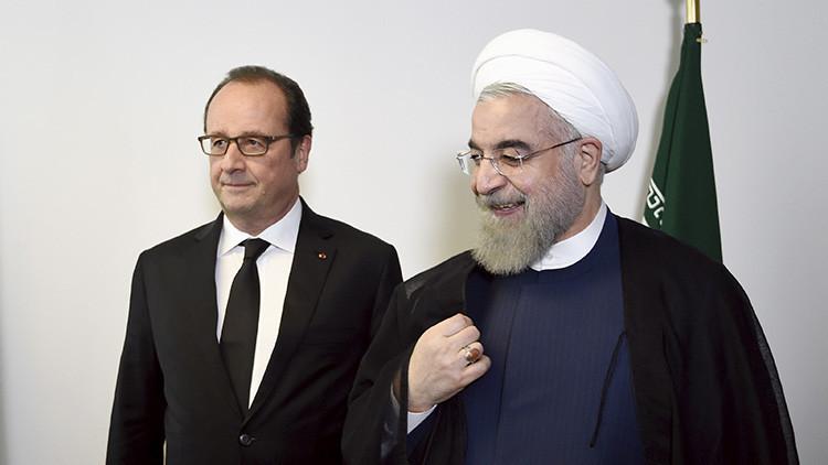 """Cancelan un almuerzo entre Hollande y Rohaní porque Francia se niega a """"quitar el vino de la mesa"""""""