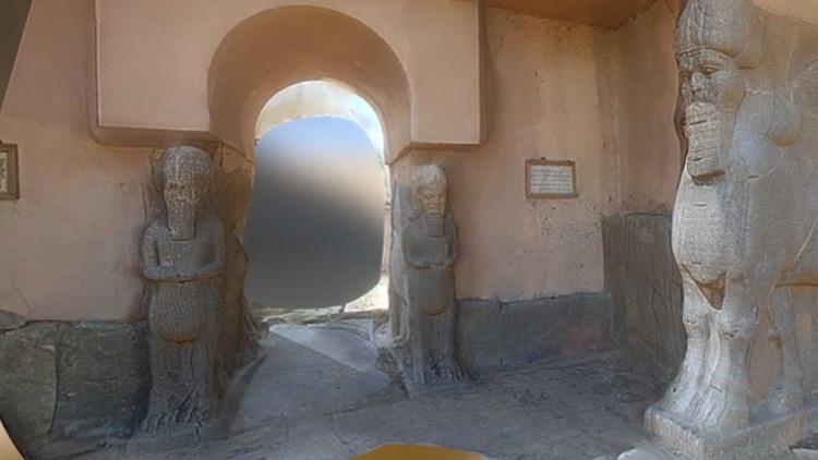 Escáneres 3D salvan el patrimonio arqueológico del fanatismo del Estado Islámico