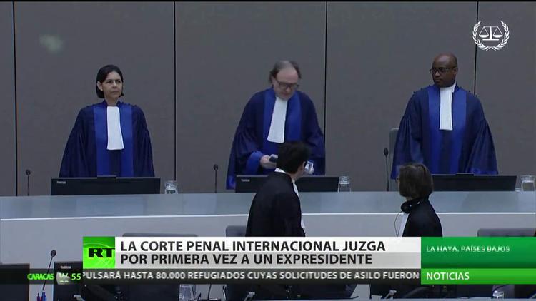 La Corte Penal Internacional juzga por primera vez al expresidente de un país