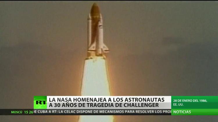 La NASA homenajea a los astronautas 30 años después de la tragedia de Challenger