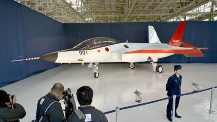 Japón desvela el prototipo de su primer caza furtivo