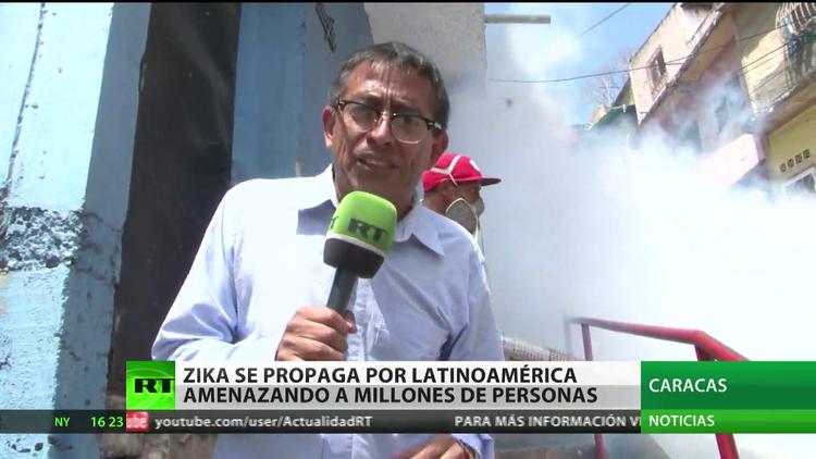 El zika se propaga por América Latina amenazando a millones de personas