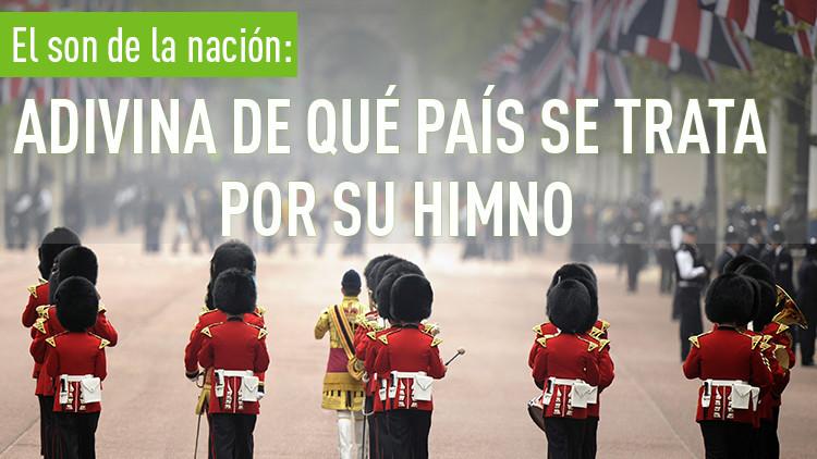 El son de la nación: Adivina de qué país se trata por su himno