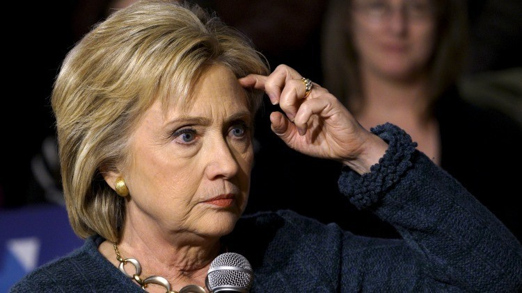 EE.UU.: El correo personal de Hillary Clinton contenía 22 emails con información 'top secret'