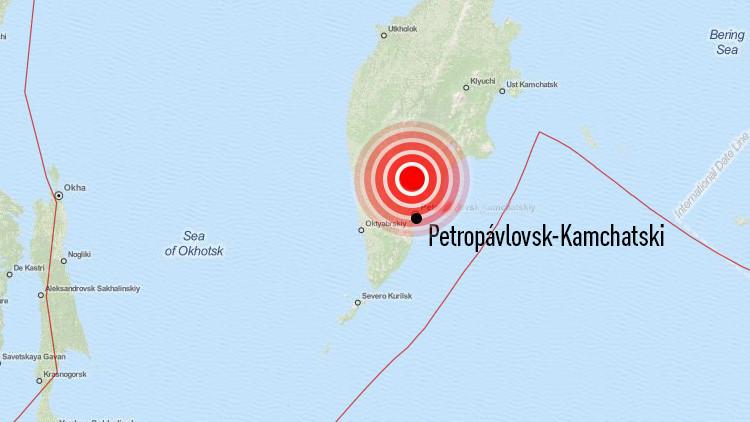 Dos sismos de magnitud 7,3 y 6,9 sacuden el Lejano Oriente de Rusia