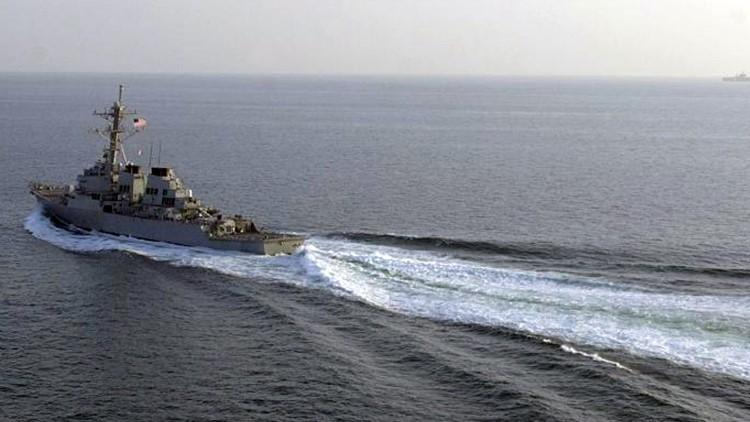 """China: """"Un buque de EE.UU. ha entrado ilegalmente en nuestras aguas"""""""