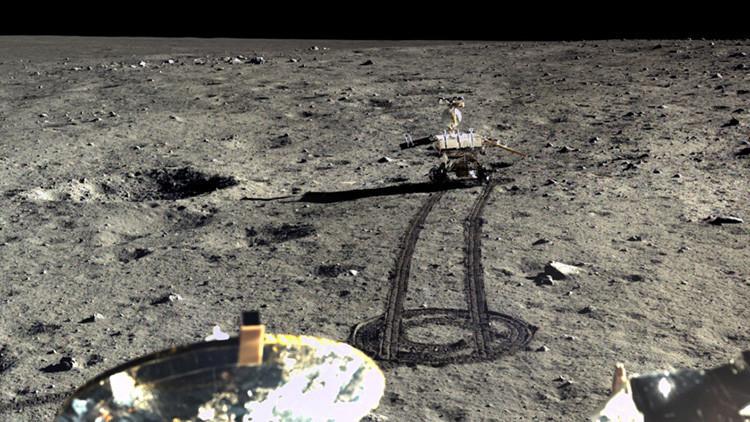 FOTOS: China difunde las primeras imágenes HD de su misión en la Luna