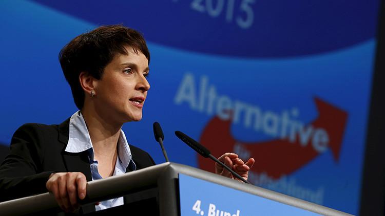 """Un partido alemán sugiere """"usar armas"""" contra los refugiados"""