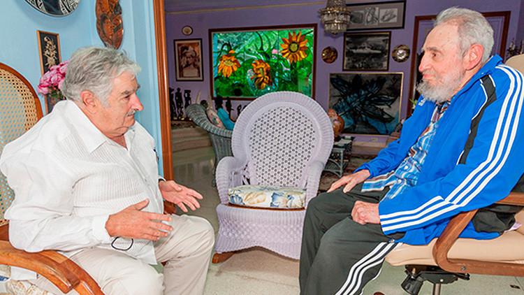 Fidel Castro traslada a Mujica su preocupación por la expansión del Zika