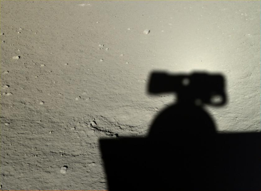 FOTOS: China difunde las primeras imágenes HD de su misión en la Luna 56ad40c9c361887d358b4607