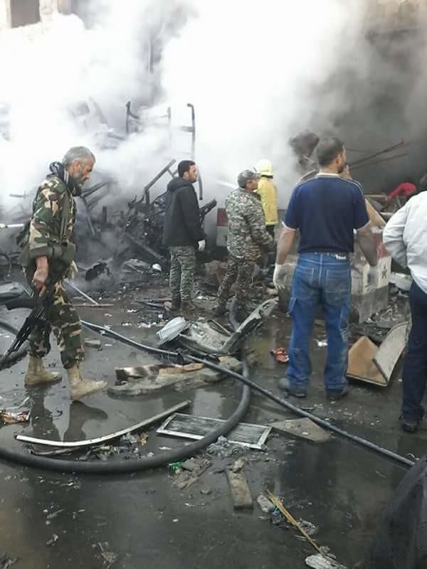 Al menos 45 muertos y más de 100 heridos por explosiones en Damasco