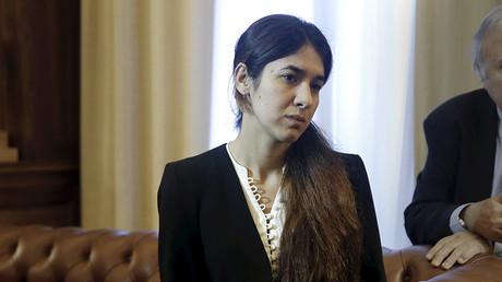 Nadia Murad, de 21 años, fue una de las más de 5.000 mujeres yazidí que sufrieron del cautiverio por parte del grupo terrorista Estado Islámico.