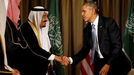 Barack Obama y el rey Salman