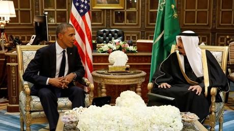 El presidente estadounidense Barack Obama y el rey saudita Salmán bin Abdulaziz Al Saud