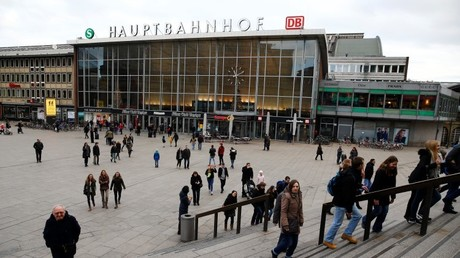 La estación central de trenes de Colonia, uno de los lugares donde ocurrieron los ataques