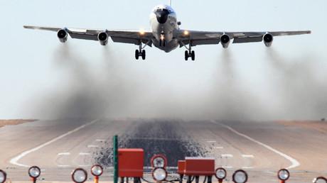 El avión de reconocimiento Boeing WC-135 Constant Phoenix