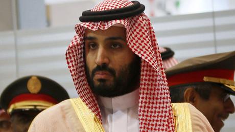 El príncipe heredero saudí Muhammad bin Salman