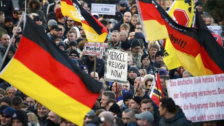 Una protesta popular en Alemania