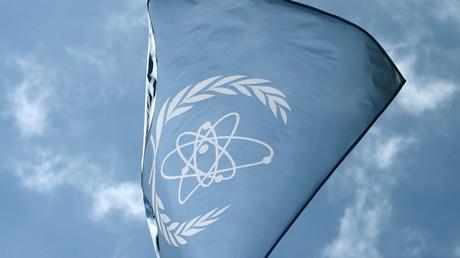 Bandera del OIEA
