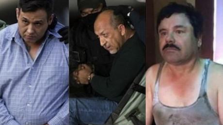 """Omar Treviño Morales, Servando Gómez Martínez, Joaquín """"El Chapo"""" Guzmán"""
