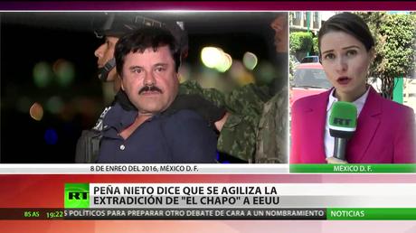 México: Peña Nieto afirma que se agilizará la extradición de 'El Chapo' a EE.UU.