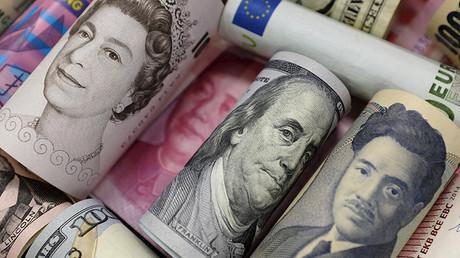 Monedas oficiales de la Unión Europea, EE.UU., Japón, Reino Unido y China