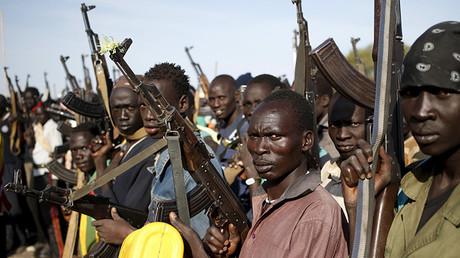 Rebeldes armados de Sudán del Sur, 10 de febrero 2014