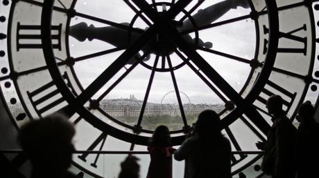 Visitantes en el Museo de Orsay en París, Francia, el 28 de Julio de 2015.