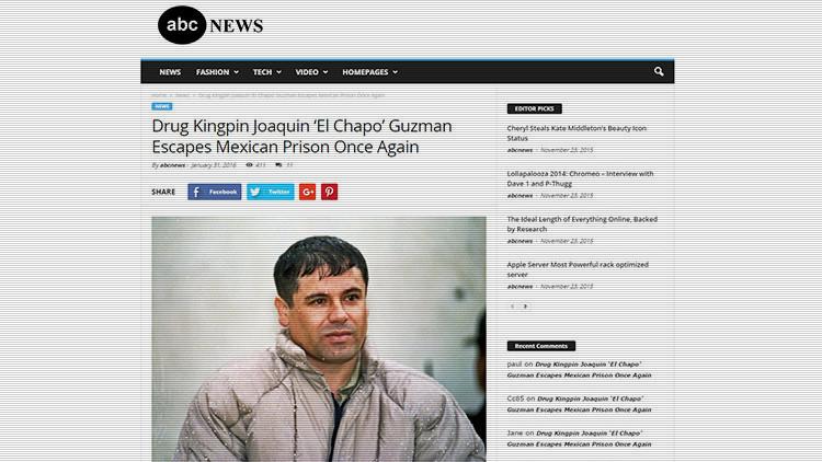 Los rumores sobre la tercera fuga de 'El Chapo' encienden la Red