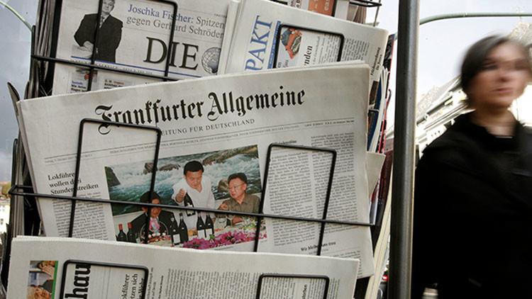 """Exdirectivo de ZDF: """"La prensa alemana escribe lo que le ordenan 'desde arriba'"""""""