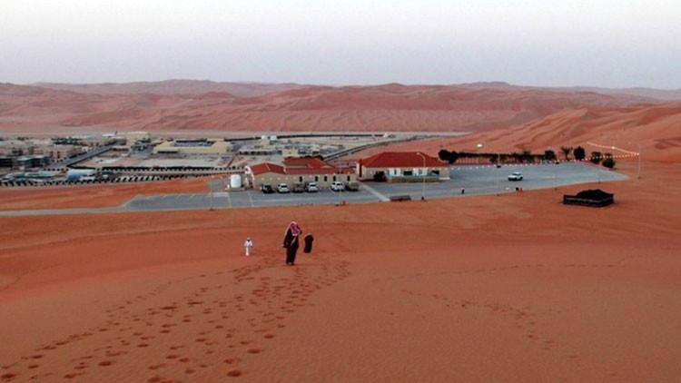Campo petrolífero de Shaybah, uno de los mayores de Arabia Saudita