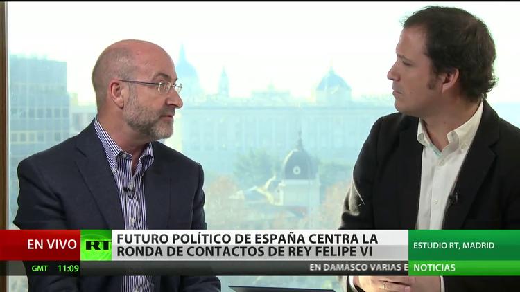 Futuro político de España centra la ronda de contactos del Rey Felipe VI