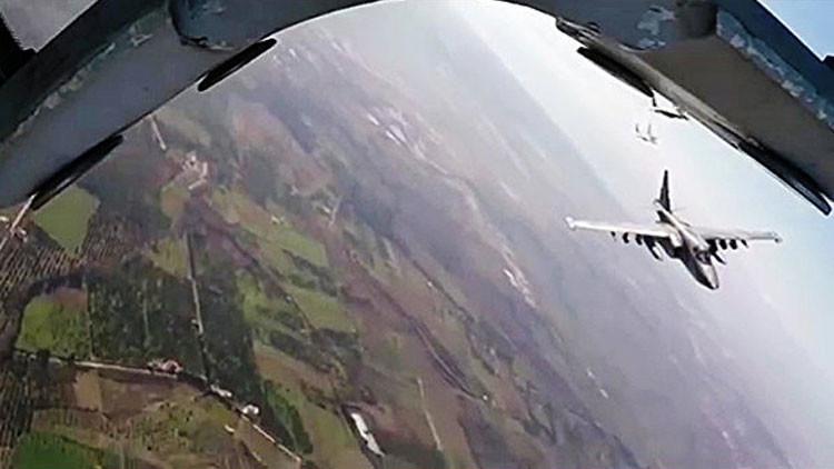 Ni un paso atrás: Rusia ataca más de 1.350 objetivos del EI en ocho provincias de Siria (Video)