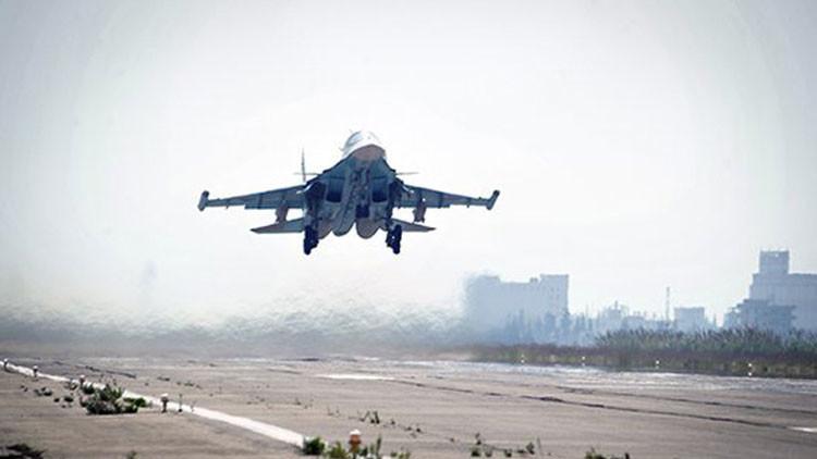 Aviación rusa repele intento de contrataque terrorista al Ejército sirio
