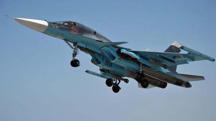 """La OTAN, sobre el caso del Su-34 : """"Tenemos pruebas pero no las mostramos"""""""