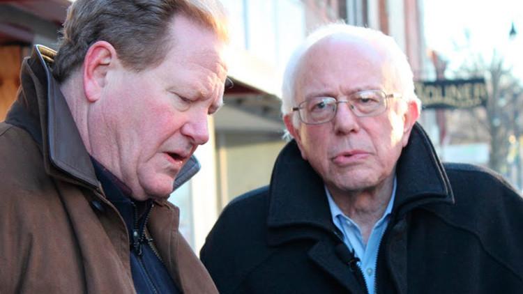 """Bernie Sanders en exclusiva a RT: """"La gente necesita a alguien en quien sabe que puede confiar"""""""