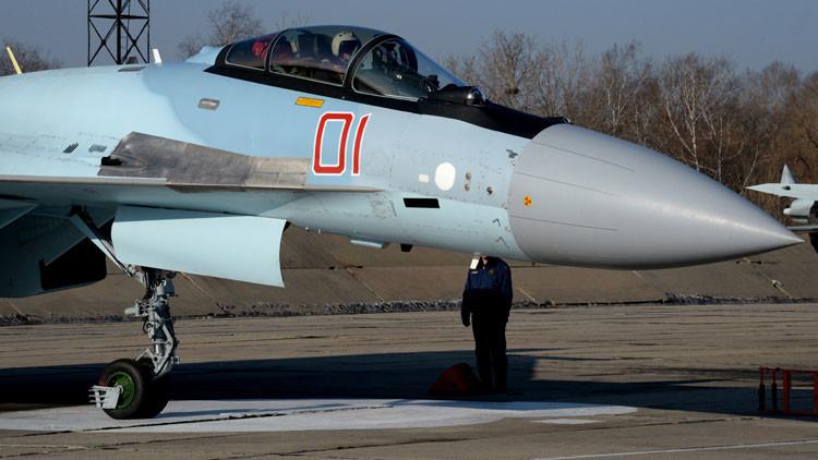 La aparición de los cuatro Su-35S hará casi insuperable el dominio ruso del espacio aéreo de Siria