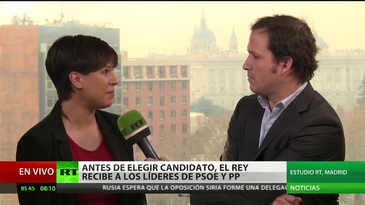 Antes de elegir candidato, el rey de España recibe a los líderes de PSOE y PP