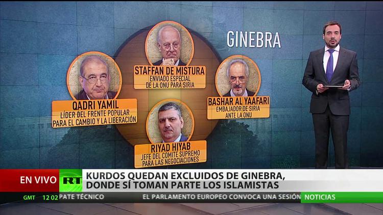 Conozca a los participantes en las negociaciones de Ginebra sobre la crisis siria
