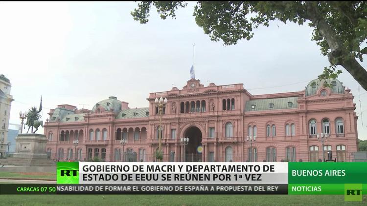 Primera reunión oficial entre el Gobierno de Macri y el Departamento de Estado de EE.UU.