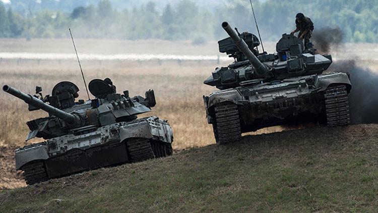 Los tanques T-90 rusos, claves para la victoria del Ejército sirio (Vídeo)
