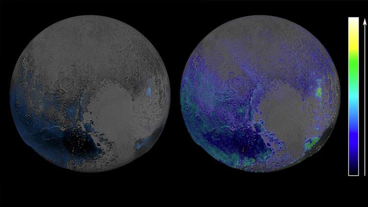 ¿Habrá también vida? La NASA descubre vastas reservas de hielo en Plutón